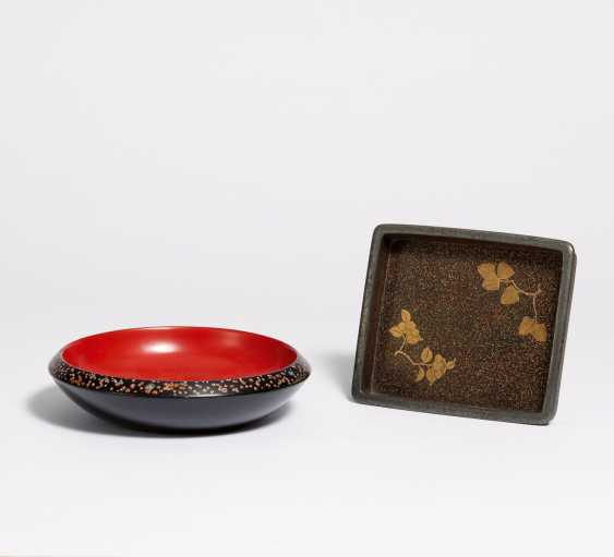 Small insert tray (bon) and flat bowl for sweets - photo 1