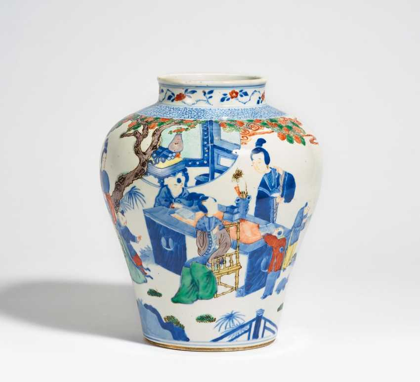Vase with women at lessons with boys - photo 1