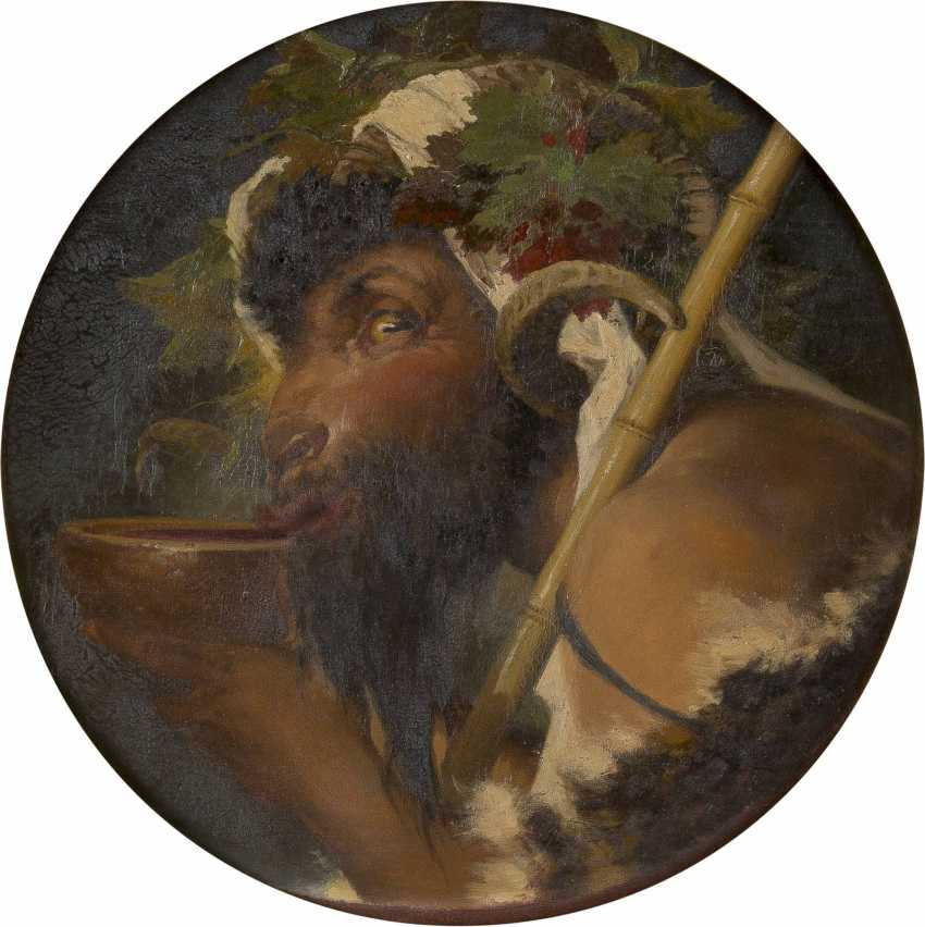ANSELM FEUERBACH (UMKREIS) 1829 Speyer - 1880 Venedig Trinkender Faun - photo 1