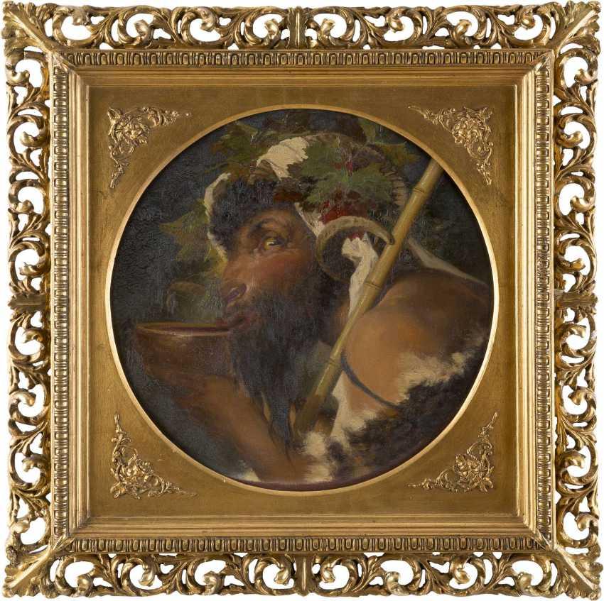 ANSELM FEUERBACH (UMKREIS) 1829 Speyer - 1880 Venedig Trinkender Faun - photo 2
