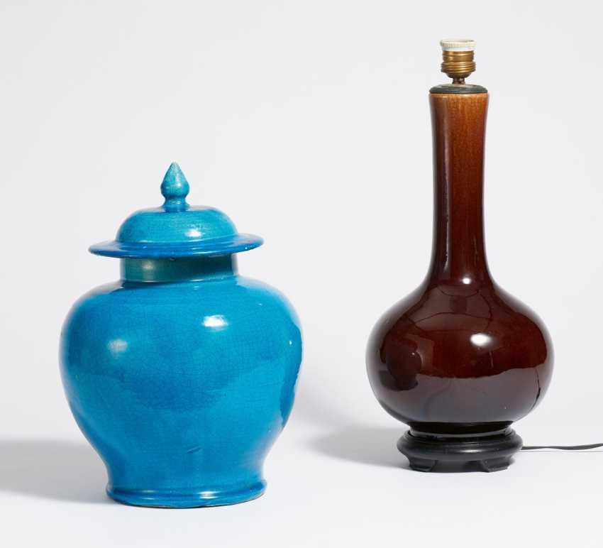 Lid vase and long neck vase - photo 1