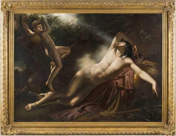 ANNE-LOUIS GIRODET-TRIOSON (KOPIE NACH) 1767 Montargis - 1824 Paris Der Schlaf des Endymion - photo 2