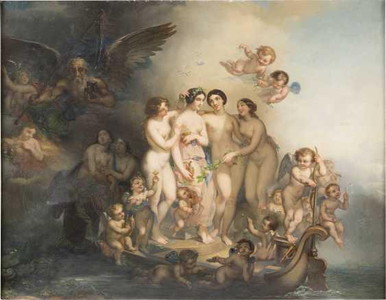 HANS ZAZTKA (ATTR.) 1859 Wien - 1945 Ebenda ALLEGORIE DER VERGÄNGLICHEN SCHÖNHEIT - photo 1