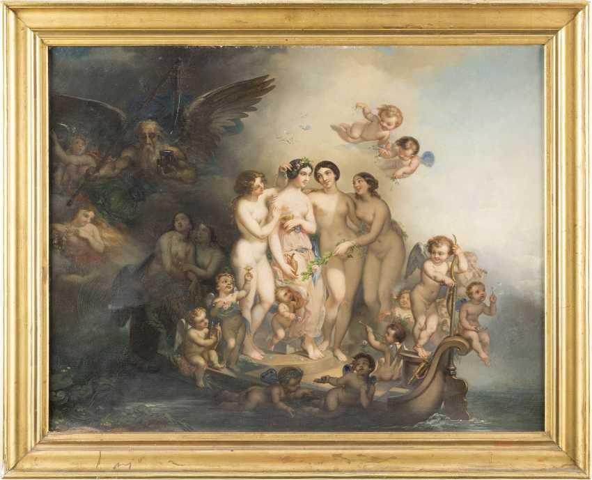 HANS ZAZTKA (ATTR.) 1859 Wien - 1945 Ebenda ALLEGORIE DER VERGÄNGLICHEN SCHÖNHEIT - photo 2