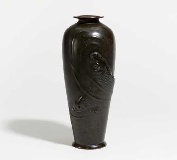 Vase with two large carp - photo 1