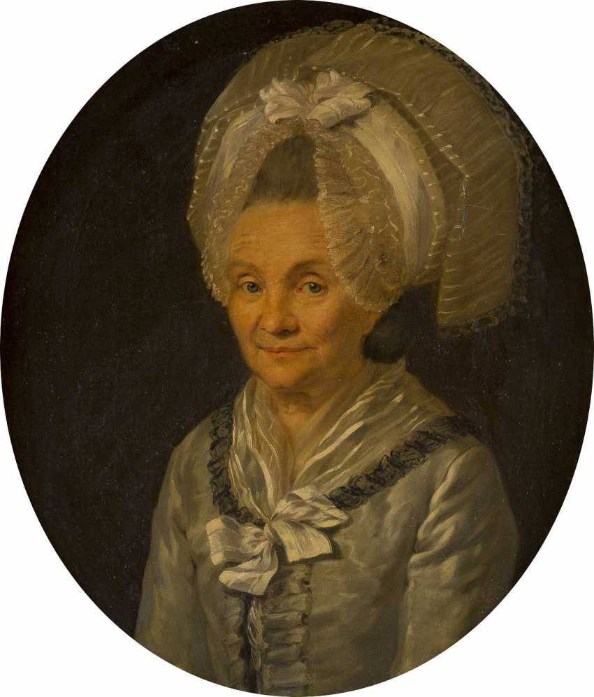 DEUTSCHER PORTRAITIST Tätig 1. Hälfte 19. Jahrhundert Fürstin von Peckenzell - photo 1