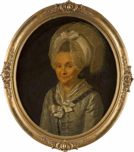 DEUTSCHER PORTRAITIST Tätig 1. Hälfte 19. Jahrhundert Fürstin von Peckenzell - photo 2