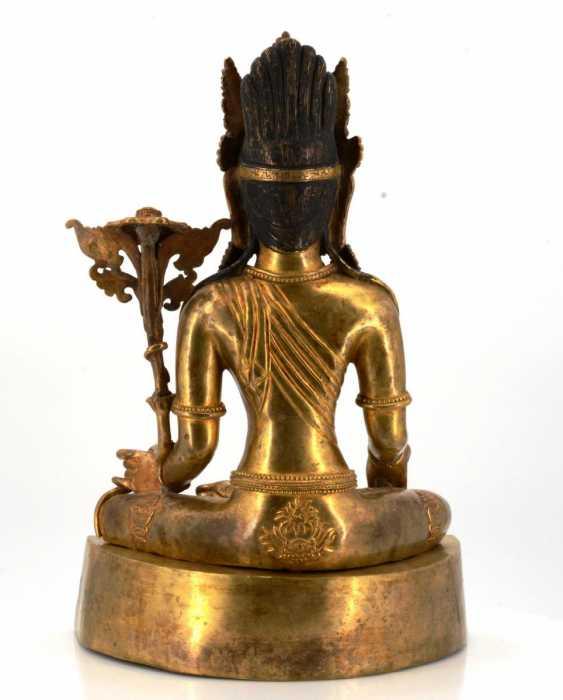 Rare and large figure of the Bodhisattva Padmapani - photo 5