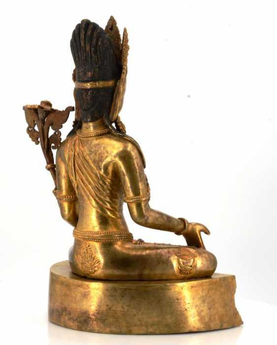 Rare and large figure of the Bodhisattva Padmapani - photo 6