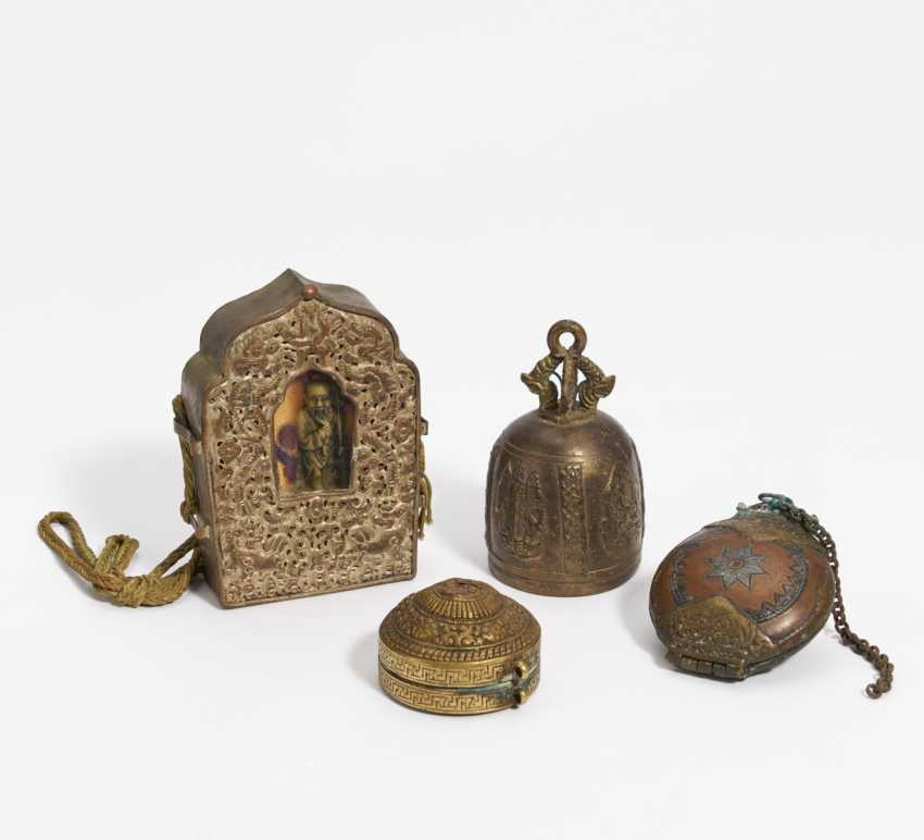 Four Buddhist objects - photo 1