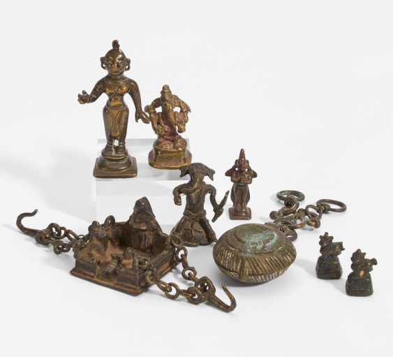 Eight figures of gods and other things - photo 1