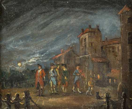 DEUTSCHER MEISTER Tätig 2. Hälfte 19. Jahrhundert Vor der Stadtmauer - photo 1