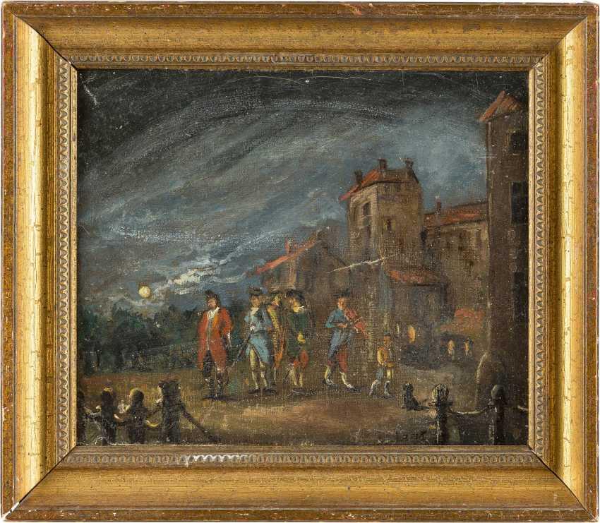 DEUTSCHER MEISTER Tätig 2. Hälfte 19. Jahrhundert Vor der Stadtmauer - photo 2