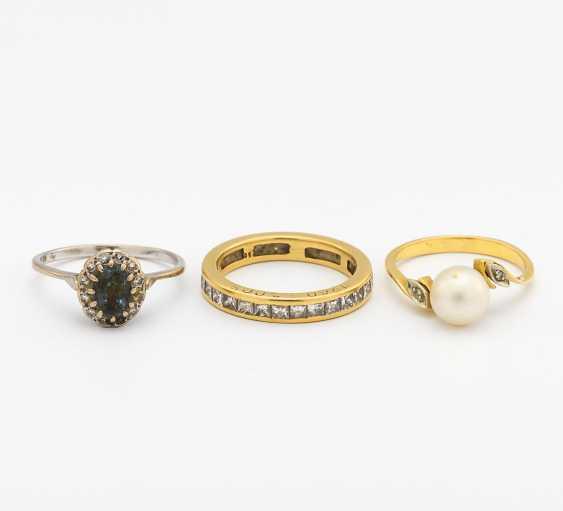 Mixed lot: three rings - photo 1