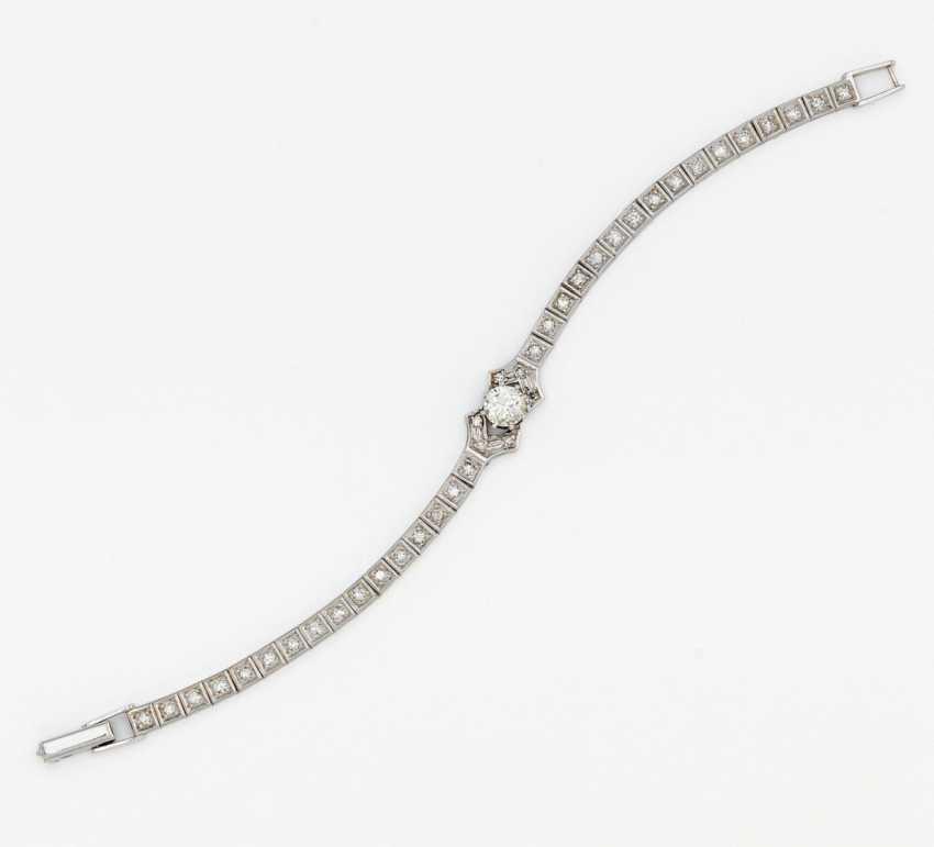 Diamond bracelet - photo 1