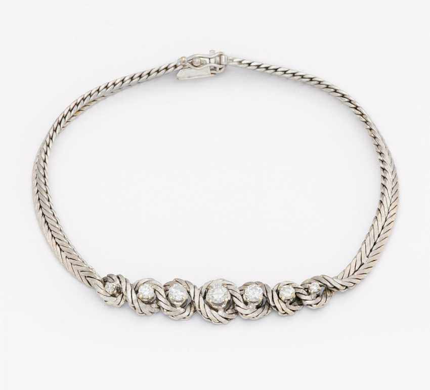 Diamond bracelet - photo 1