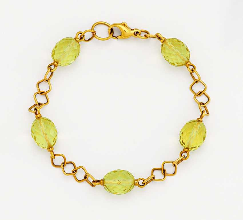 Color stone bracelet - photo 1