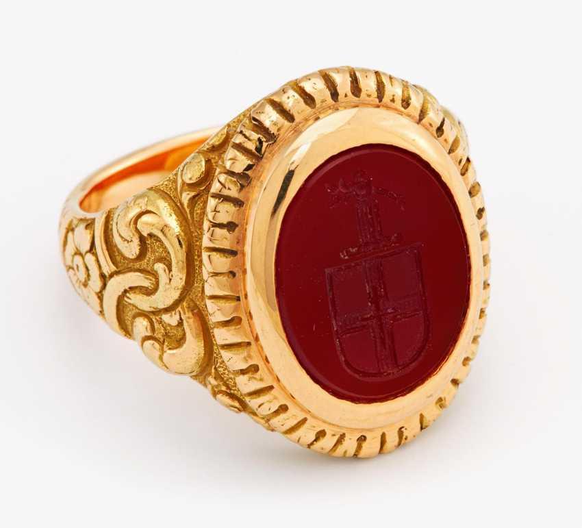 Signet ring - photo 1