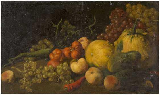 CELLA THOMA (ATTR.) 1858 - 1901 Stillleben mit Gemüse und Früchten - photo 1