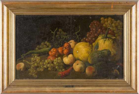 CELLA THOMA (ATTR.) 1858 - 1901 Stillleben mit Gemüse und Früchten - photo 2