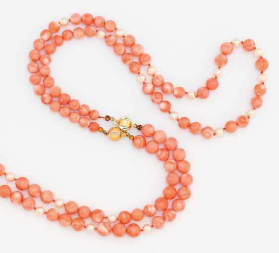 Coral necklace - photo 2
