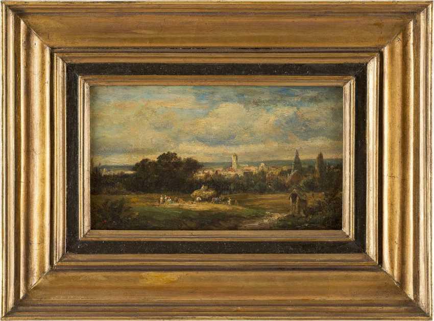 CARL SPITZWEG 1808 München - 1885 ebenda Heuernte - photo 2