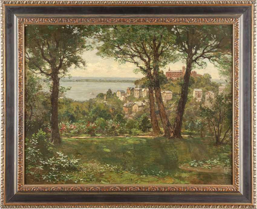 CARL AUGUST HEINRICH FERDINAND OESTERLEY 1839 Göttingen - 1930 Altona-Blankenese Meersburg am Bodensee - photo 2