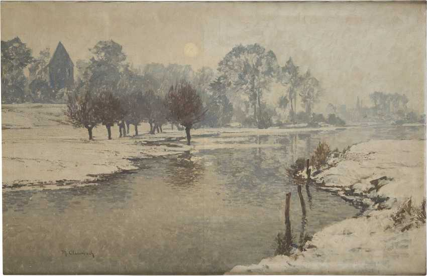 MAX CLARENBACH 1880 Neuss - 1952 Wittlaer Winterlandschaft - photo 1