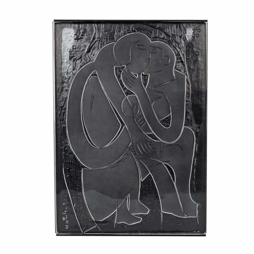 """GRIESHABER HAP, Rosenthal Annual Object 1981 """"The Couple"""", - photo 1"""