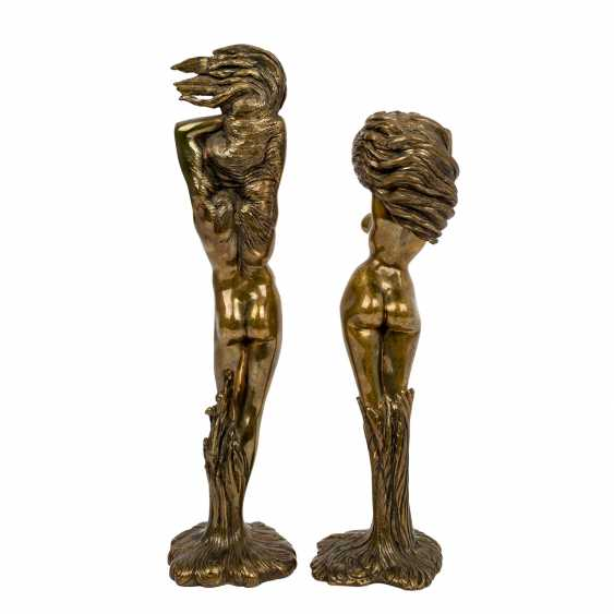 "FUCHS, ERNST (1930-2015) pair of sculptures ""Daphne"" and ""Apoll"" - photo 3"