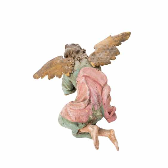 PAIR OF WINGED ALTAR ANGELS - photo 3