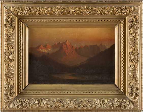 ALFRED DE BREANSKY (ATTR.) 1852 (Großbritannien) - 1928 Sonnenuntergang im schottischen Hochland - фото 2