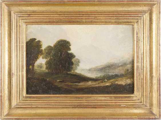 BRITISCHER LANDSCHAFTSMALER Tätig Mitte 19. Jahrhundert Sommerliches Hochland - photo 2
