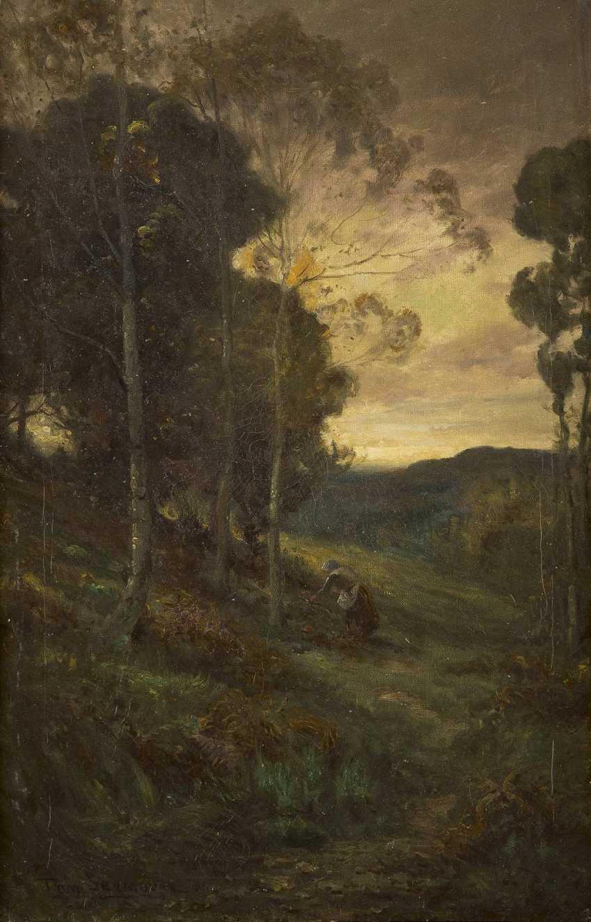 TOM SEYMOUR 1844 - 1904 Waldlandschaft - photo 1