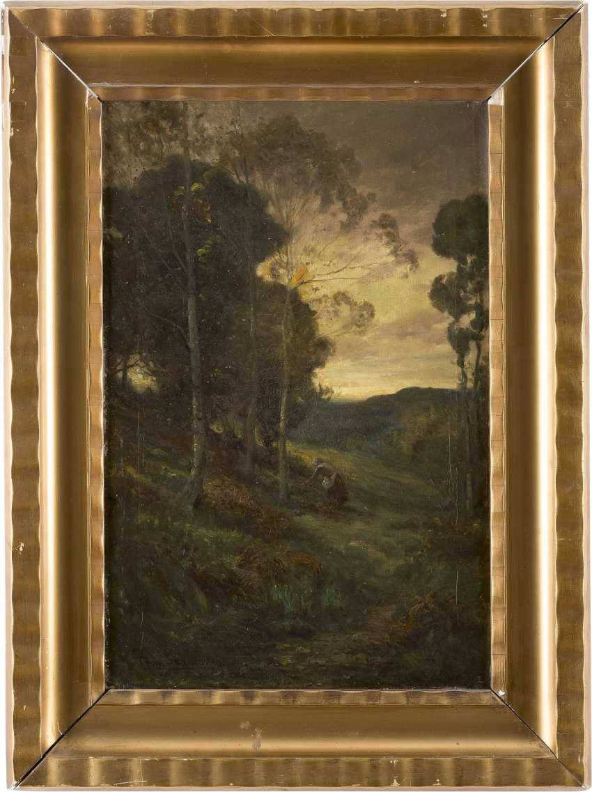 TOM SEYMOUR 1844 - 1904 Waldlandschaft - photo 2