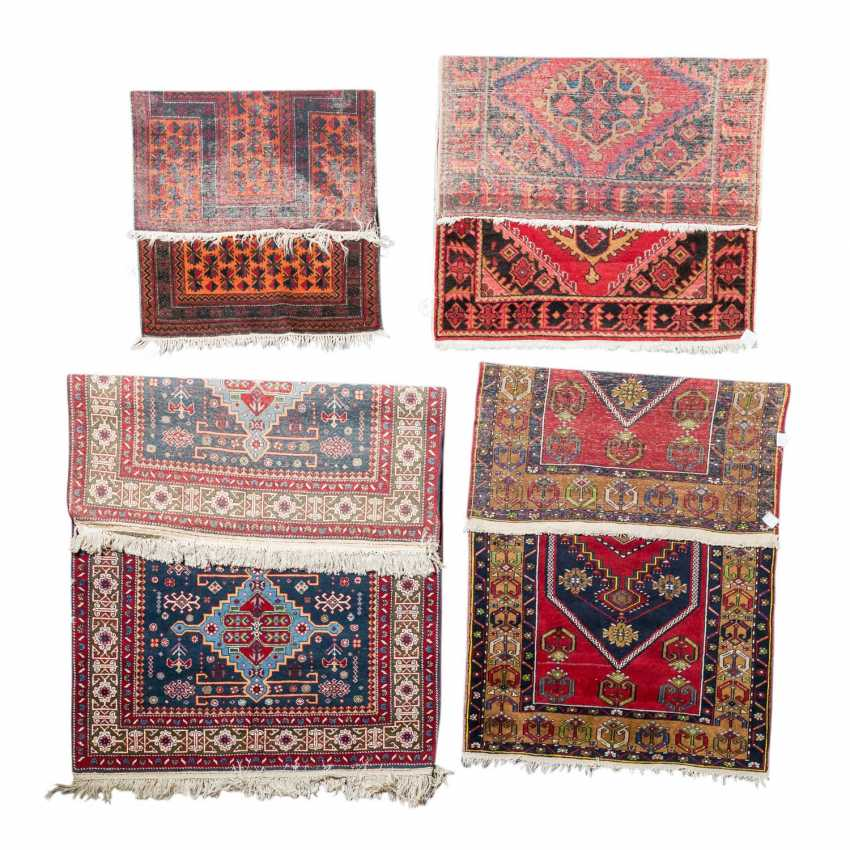 Four village carpets. PERSIA and TURKEY: - photo 2