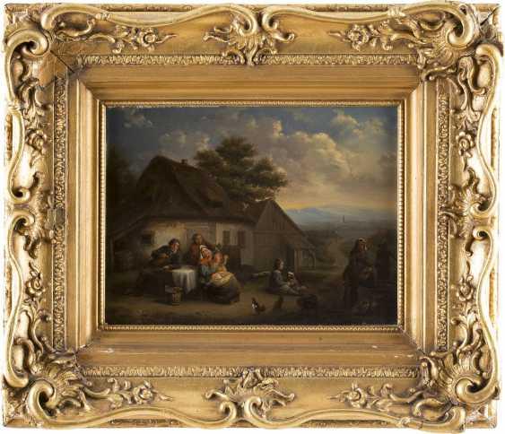 ENGLISCHER MEISTER Tätig im 19. Jahrhundert Vergnügen auf dem Land - photo 2