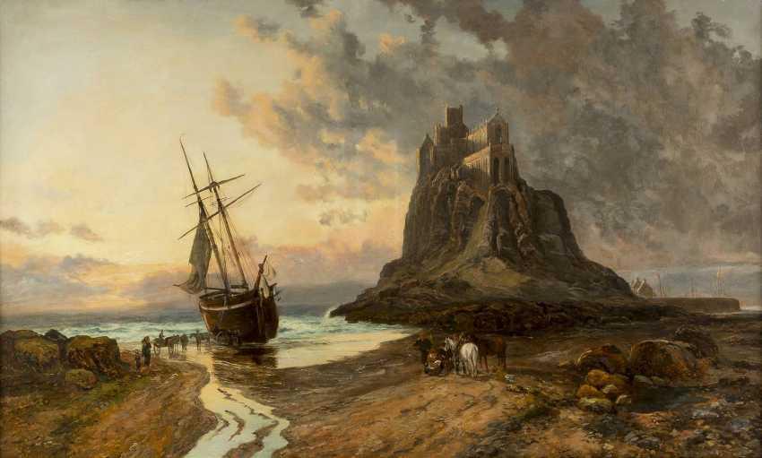 JOHN SYER II c. 1846 - 1913 Mont Saint Michel - photo 1