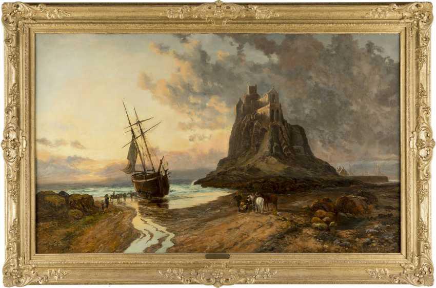 JOHN SYER II c. 1846 - 1913 Mont Saint Michel - photo 2