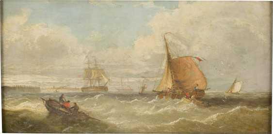 WILLIAM CALLOW (ATTR.) 1812 Greenwich - 1908 Great Missender Segelschiffe und Boote auf See - photo 1