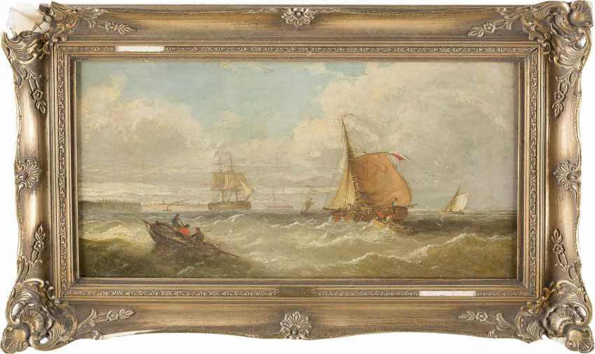 WILLIAM CALLOW (ATTR.) 1812 Greenwich - 1908 Great Missender Segelschiffe und Boote auf See - photo 2