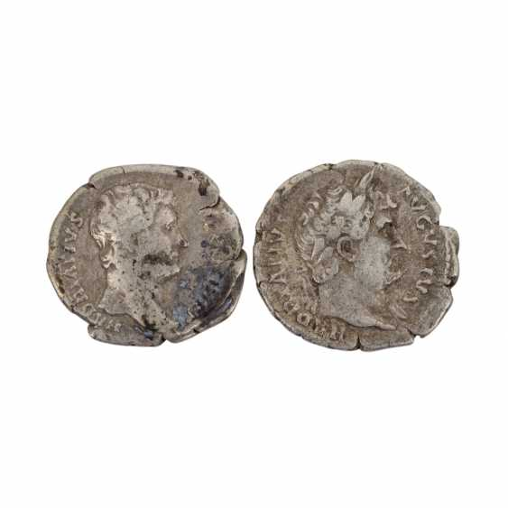2 coins of the Roman Empire - - photo 1