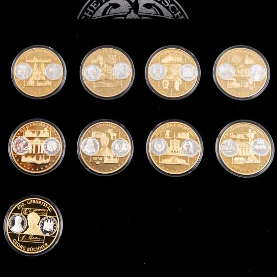 Medals for 1200 years of German coin history, - photo 3