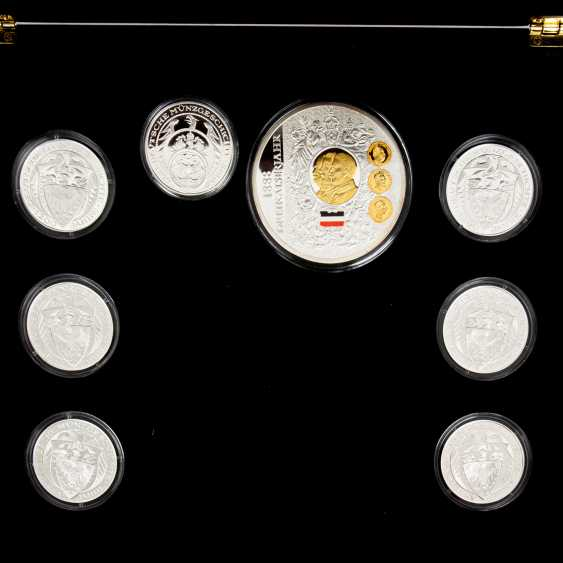 Medals for 1200 years of German coin history, - photo 4