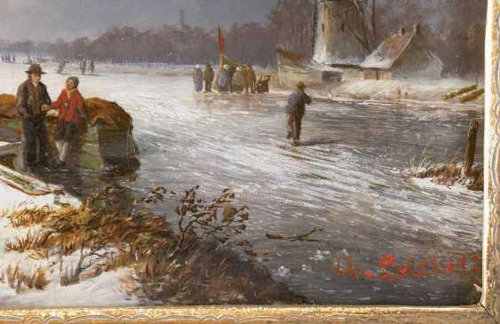 CHARLES HENRI JOSEPH LEICKERT (UMKREIS) 1816 Brüssel - 1907 Mainz Geschäftiger Wintertag - photo 3