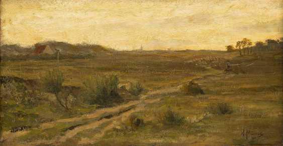 ANTON MAUVE (ATTR.) 1838 Zaandam - 1888 Arnhem Landschaft mit sandigem Weg - photo 1