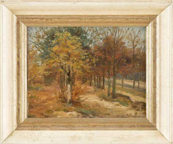 LÉON SCHULMAN 1851 Hilversum - 1943 ebenda (?) Herbstlandschaft - photo 2