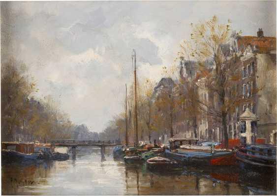 F. J. HOOVENS Tätig Mitte 20. Jahrhundert Keizers Gracht in Amsterdam - photo 1