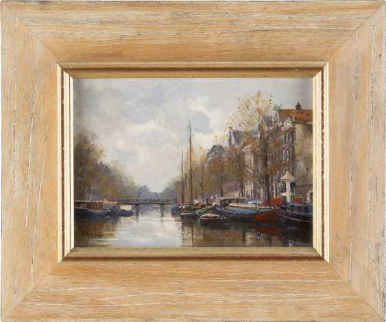 F. J. HOOVENS Tätig Mitte 20. Jahrhundert Keizers Gracht in Amsterdam - photo 2