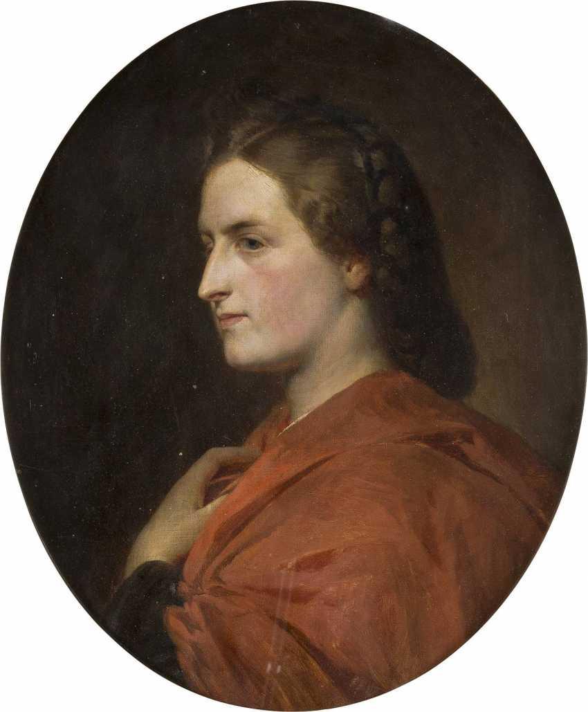 CARL OTTO (ATTR.) 1830 Osterode - 1902 Schleißheim Damenporträt - photo 1